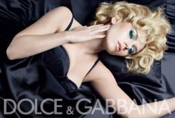 Scarlett Johansson ir D&G make-up reklama