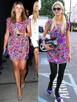 Lo Bosworth prieš Paris Hilton