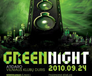Green night @ Vilnius