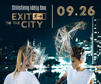 Exit to the city stilistinių idėjų šou