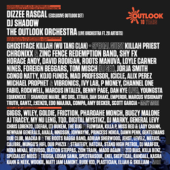 Outlook Festival 2017 - Europe's leading soundsystem culture festival