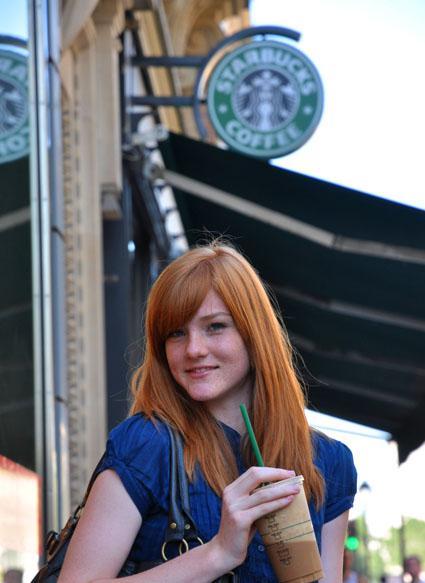 "Kava miesto ritmu ""Starbucks"""