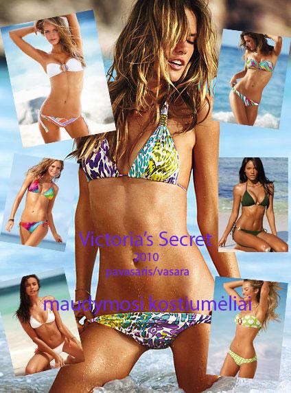 Victoria's Secret maudymosi kostiumėlių kolekciją 2010 pavasaris/vasara