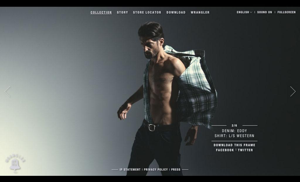 Wrangler web puslapis