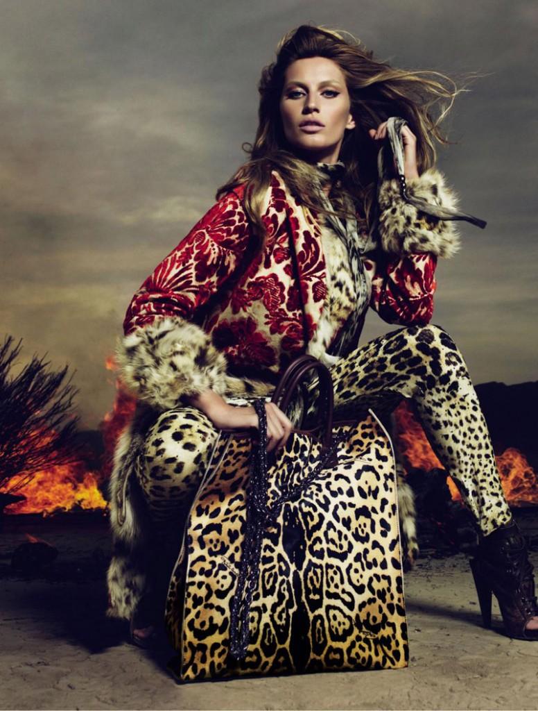 Roberto Cavalli rudens-žiemos reklaminė kompanija 2010-2011