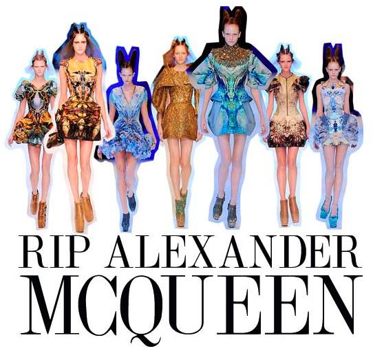 2010: Alexander McQueen mirtis