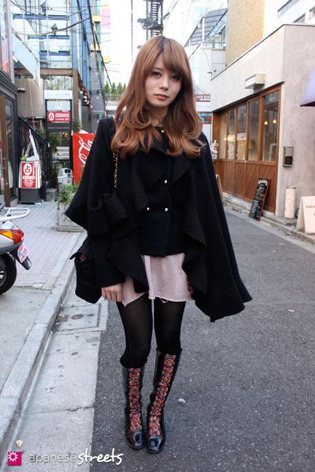 Šiek tiek neperkrauto, tačiau labai japoniško gatvės stiliaus: