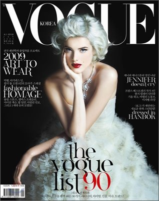 Vogue Korea Agyness Deyn
