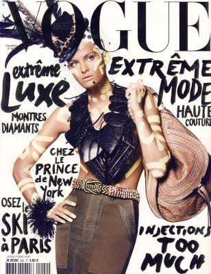 Roitfeld palieka Vogue