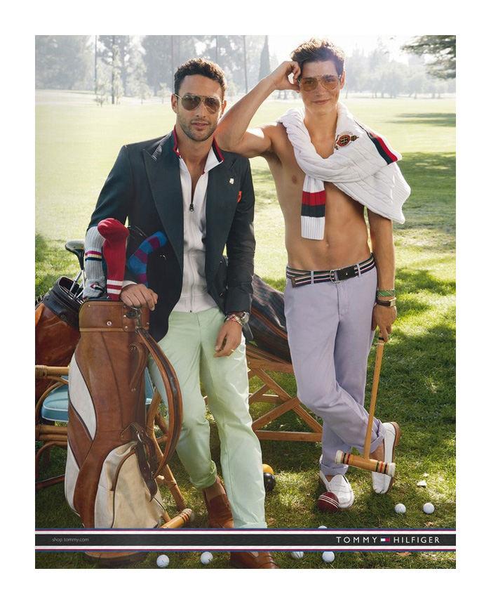Pavasaris, golfas ir Tommy Hilfiger
