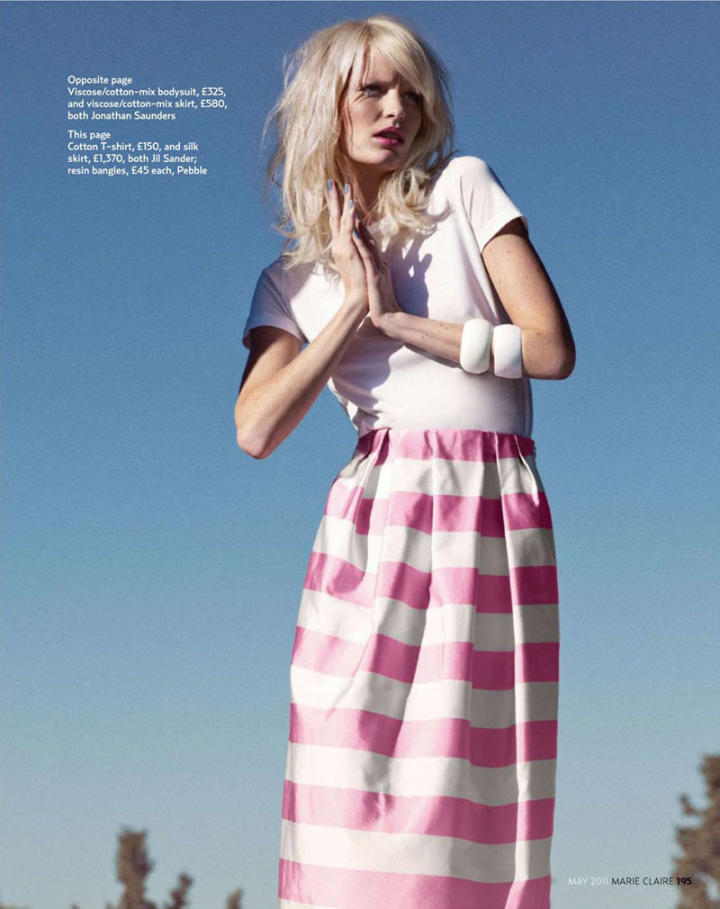 Modelis: Caroline Winberg