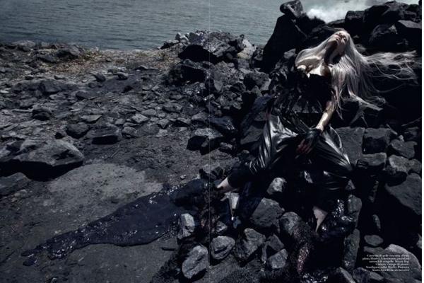 Kristen Mcmenamy for Italian Vogue