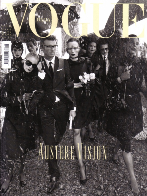 Vogue Italia Silent By Steven Meisel Cover