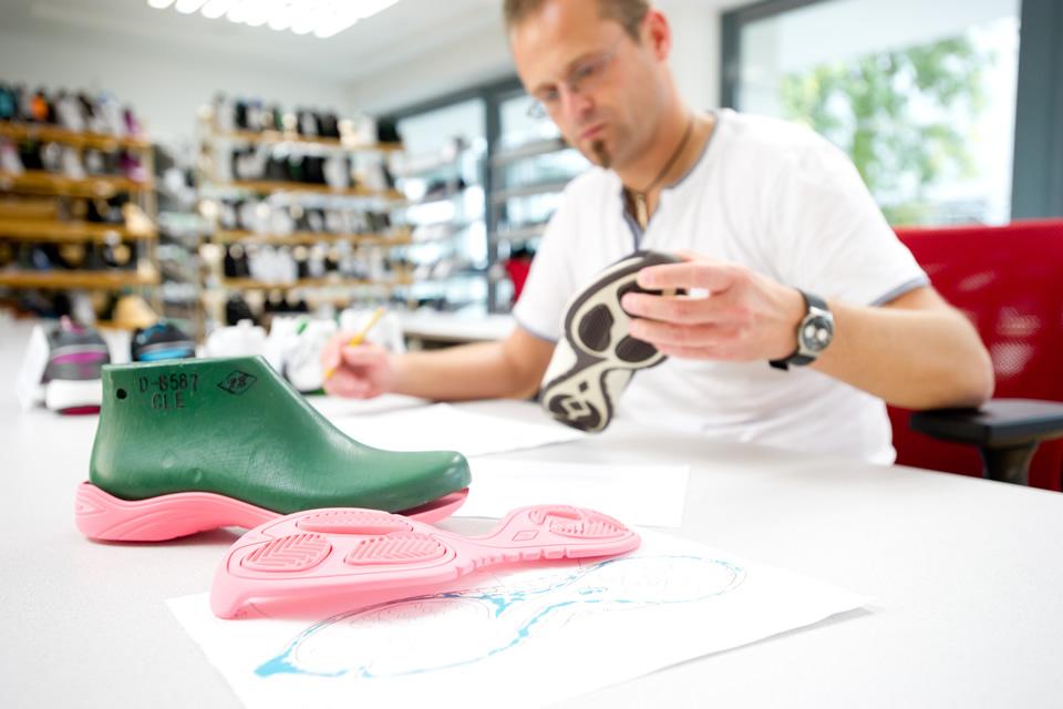 Avalynės pado dizainas ypač svarbus kuriant sportbačius