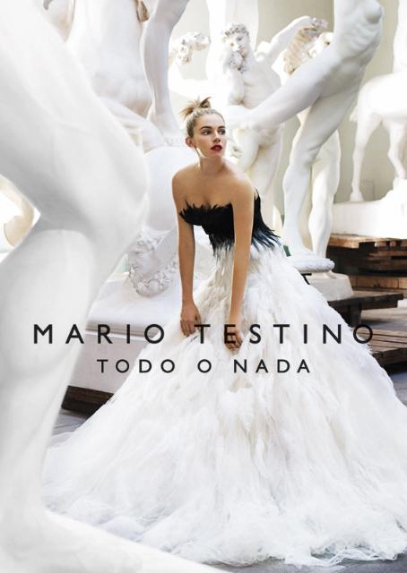 Mario Testino: Viskas arba nieko