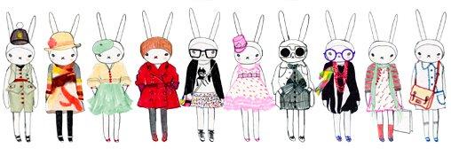 Mados iliustratorė Fifi Lapin