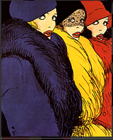 Mados iliustratorius Rene Gruau