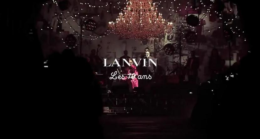 Lanvin dizaineris uždainavo!