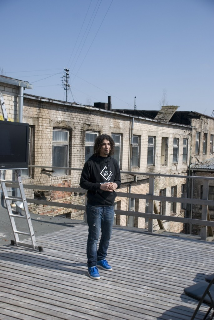 """Per Jonines Vilniaus Naujamiesčio teritorijoje stogą kels """"Loftas Fest"""""""
