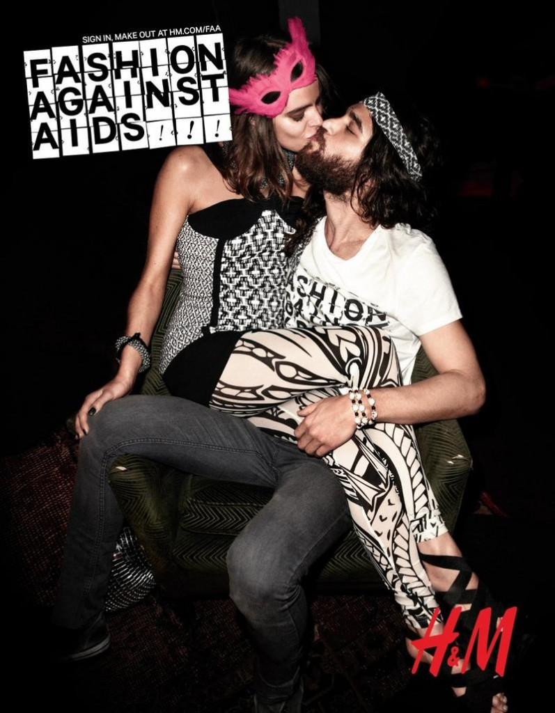 Bučinys prieš AIDS
