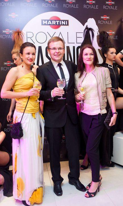 Martini Royale Casting atrankos atidarymas
