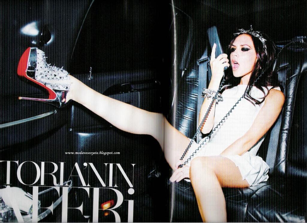 Victoria Beckham Vogue Turkey puslapiuose
