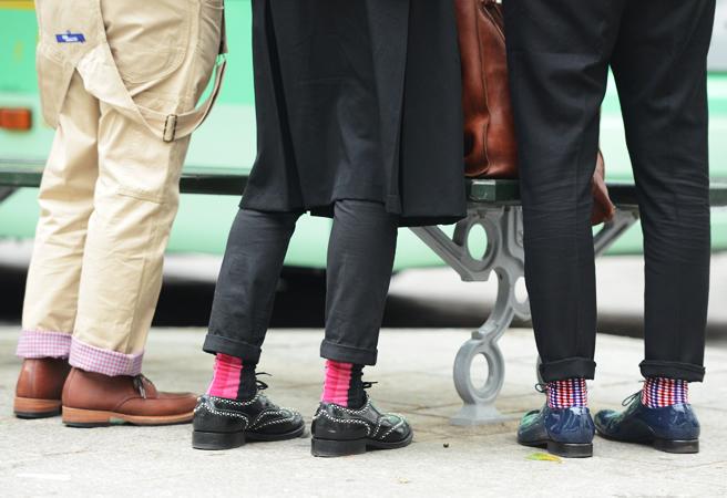 Keduotieji su kojinėmis