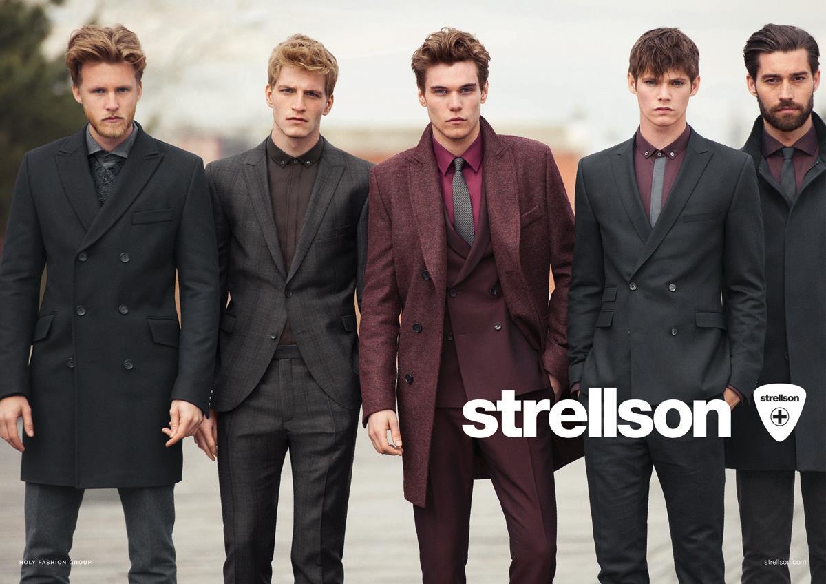 Strellson – naujas prekinis ženklas vyrams
