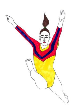 Kaip mados iliustratorė Olimpiadą minėjo