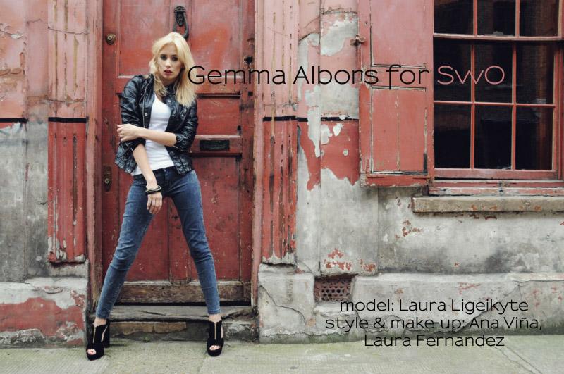 Gemma Albors ir ,,Brick Lane''