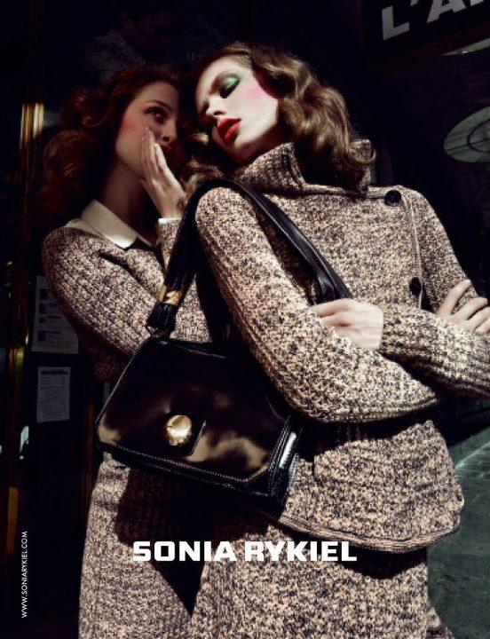 Raudonis: Sonia Rykiel rudens reklaminė kampanija