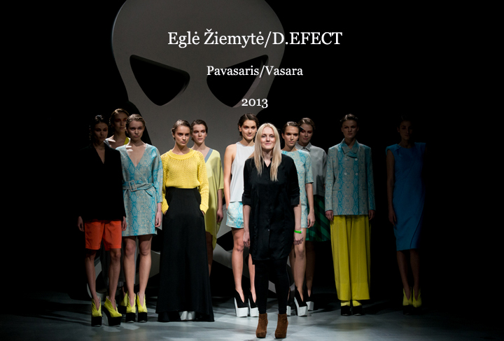 Eglė Žiemytė / D.EFECT SS 2013
