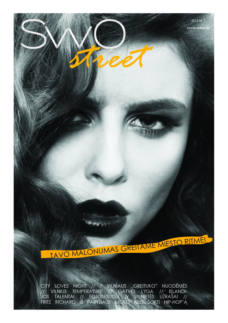 SwO street Nr.1 viršelio fotosesija