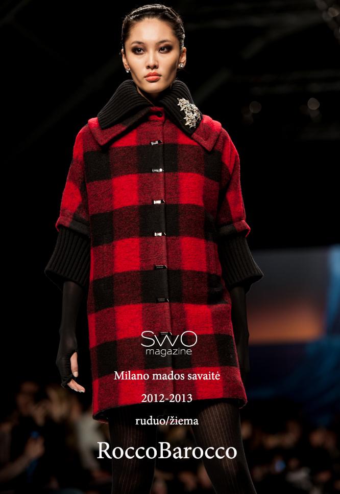 RoccoBarocco žiema 2013. Milano madų savaitė