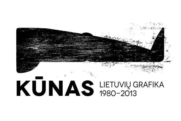 KŪNAS. Lietuvių grafika 1980–2013