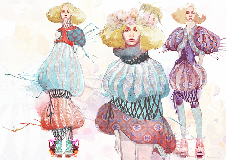 Mary Katrantzou iliustracijų konkursas