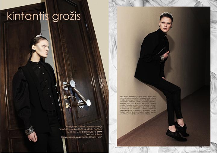 SwO magazine Nr.4 viršelio fotosesija