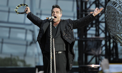 Robbie Williams koncertas