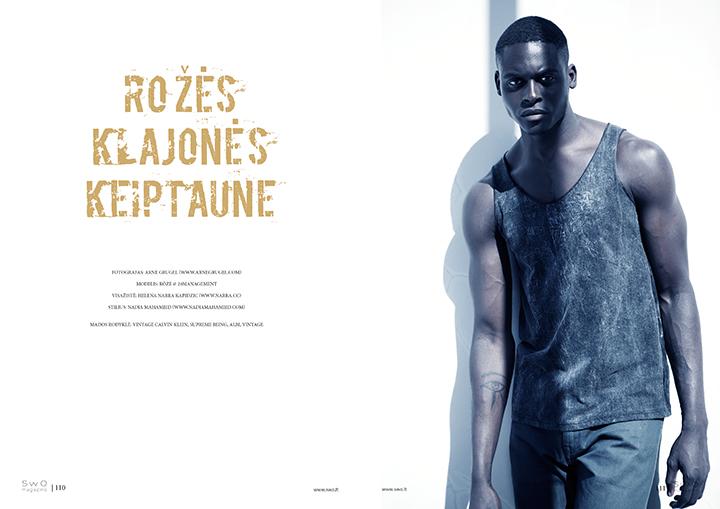 SwO magazine Nr.5 viršelio fotosesija