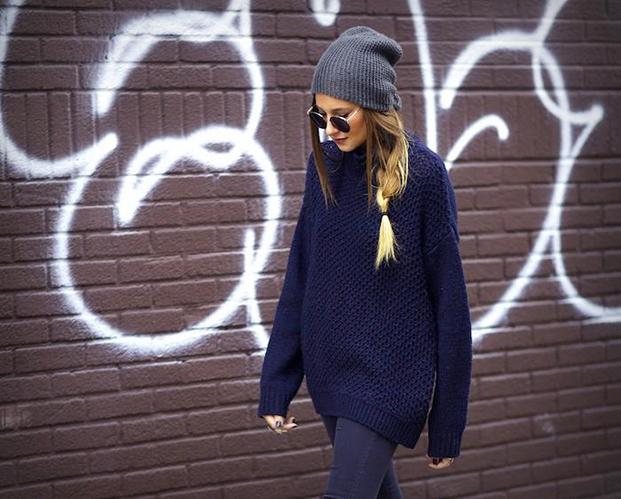 Maksi megztinis