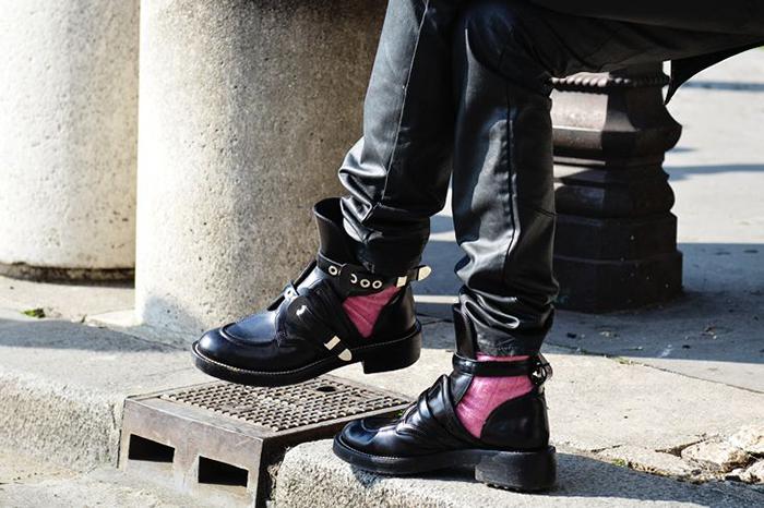TIE (Balenciaga) batai!