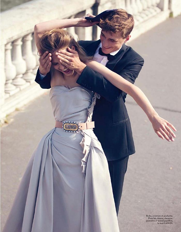 Prancūziško Vogue fotosesija