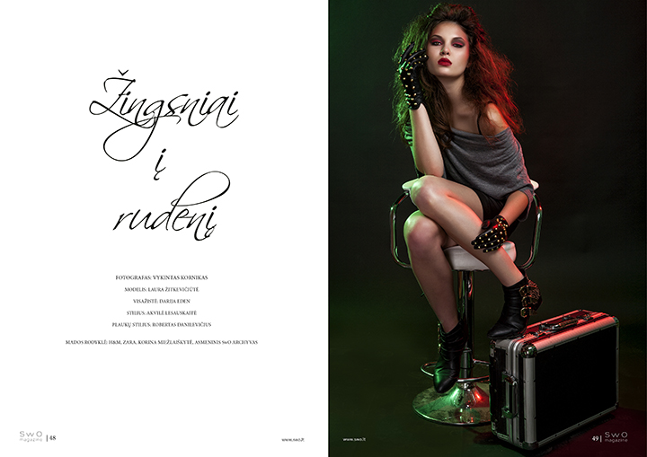 Žingsniai į rudenį | SwO magazine Nr. 5