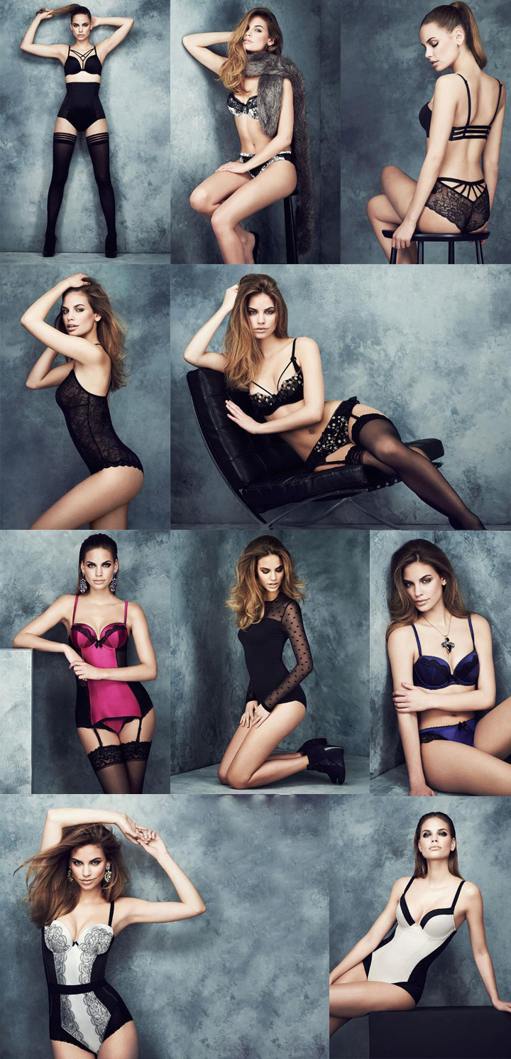 Marks & Spencer katalogo nuotraukos.