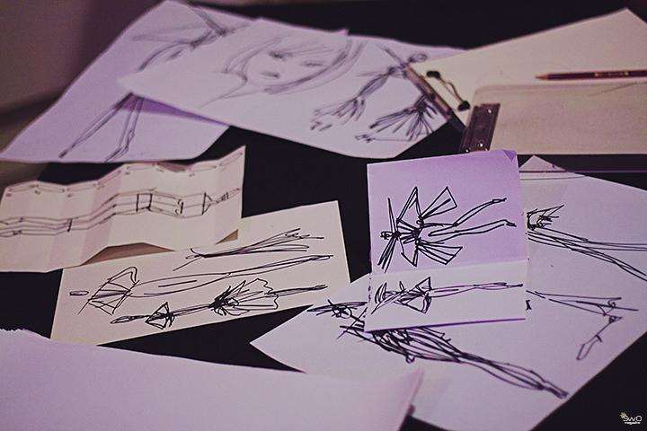 Iš V&A mados festivalio – Evie Parazite