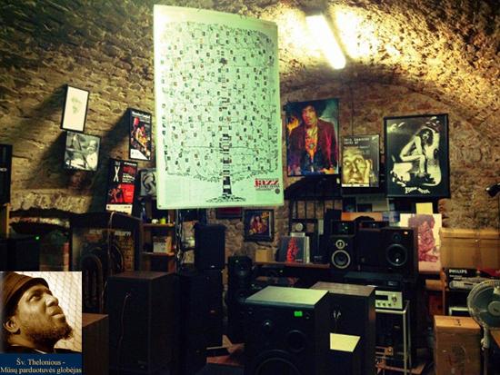 Thelonious muzikinių prekių parduotuvė