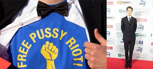 Pussy Riot ir Romas Zabarauskas
