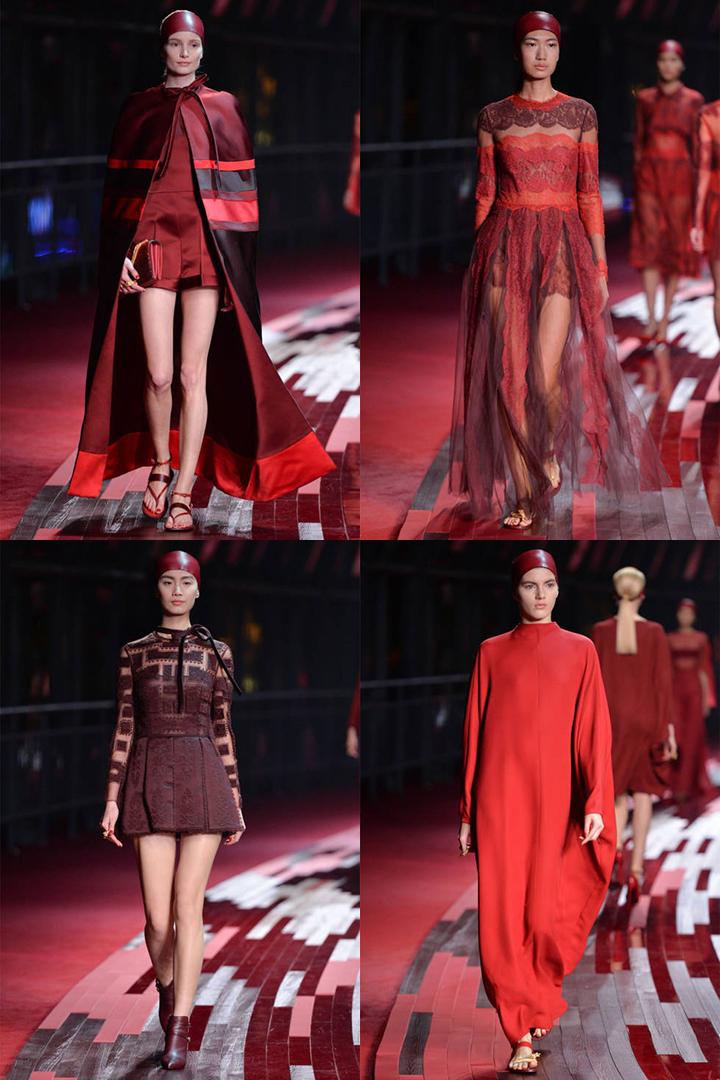 Valentino kolekcija Šanchajuje