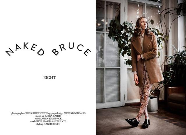 """Ieva Marija vėl tampa """"Naked Bruce"""" veidu"""