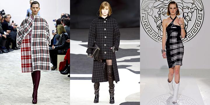 Celine, Chanel, Versace